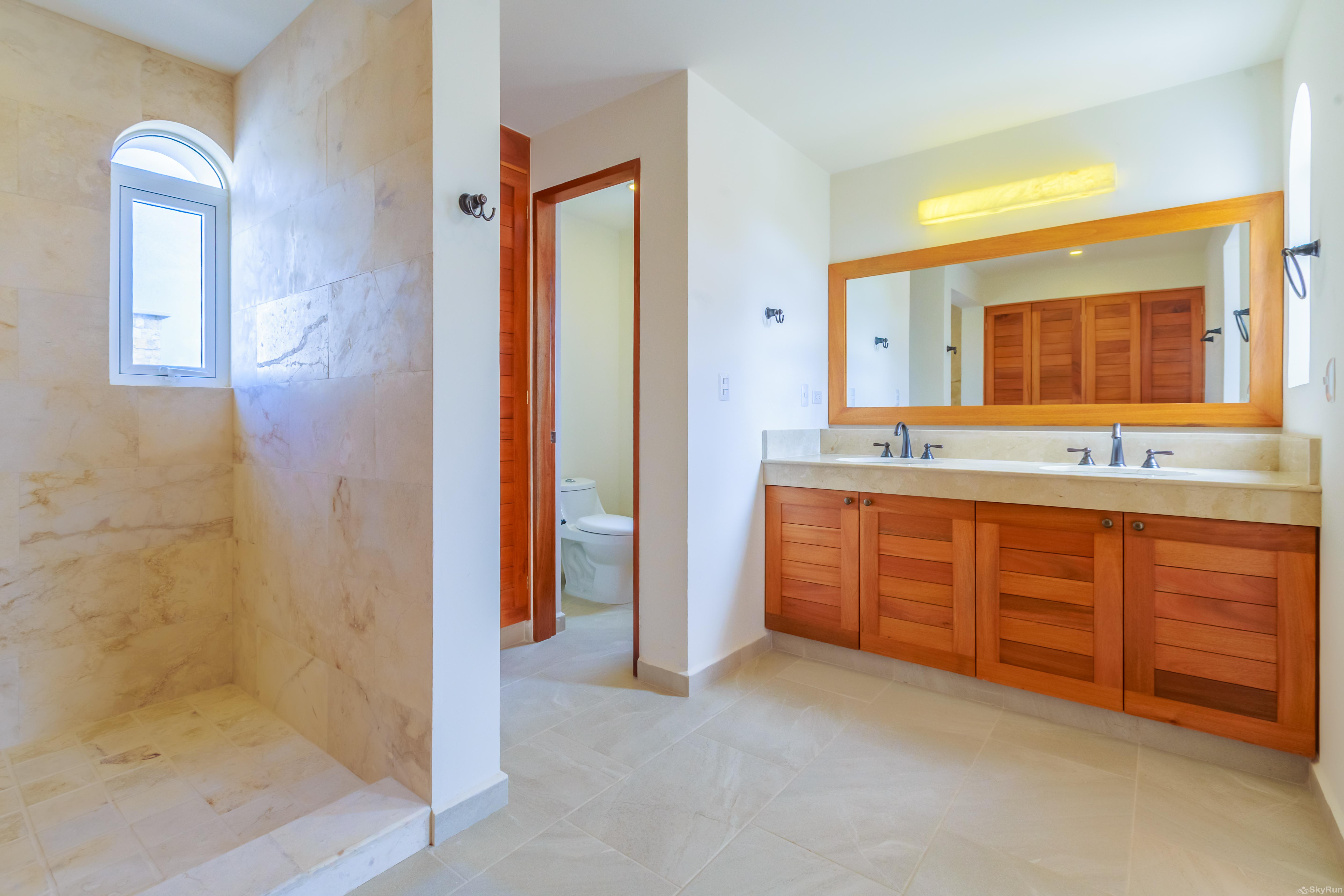 Casa Isla Bella Isla Mujeres private bathroom for master bedrooms