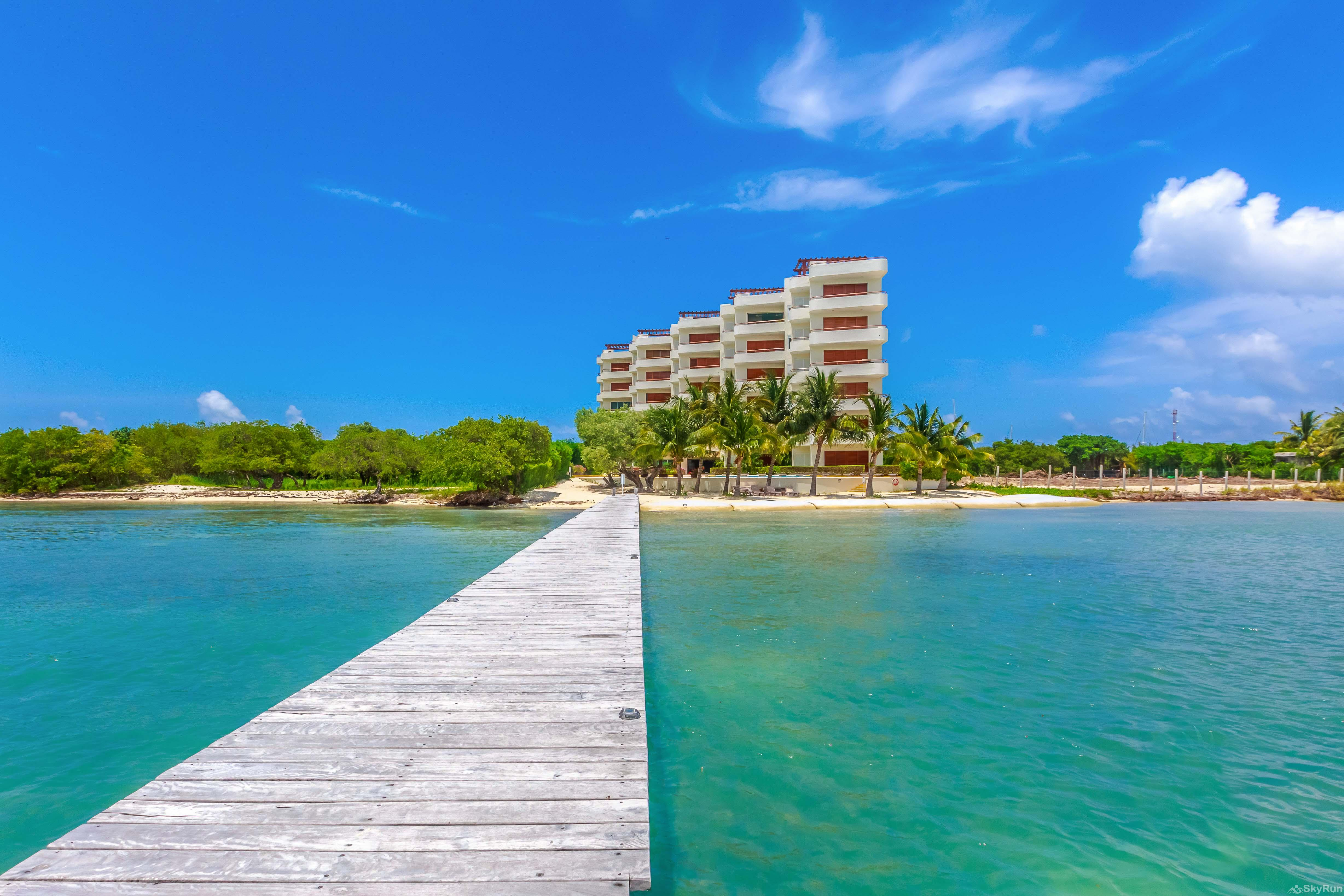 Coral Three Bedroom Oceanfront Residence 3 bedroom condo next to the beach