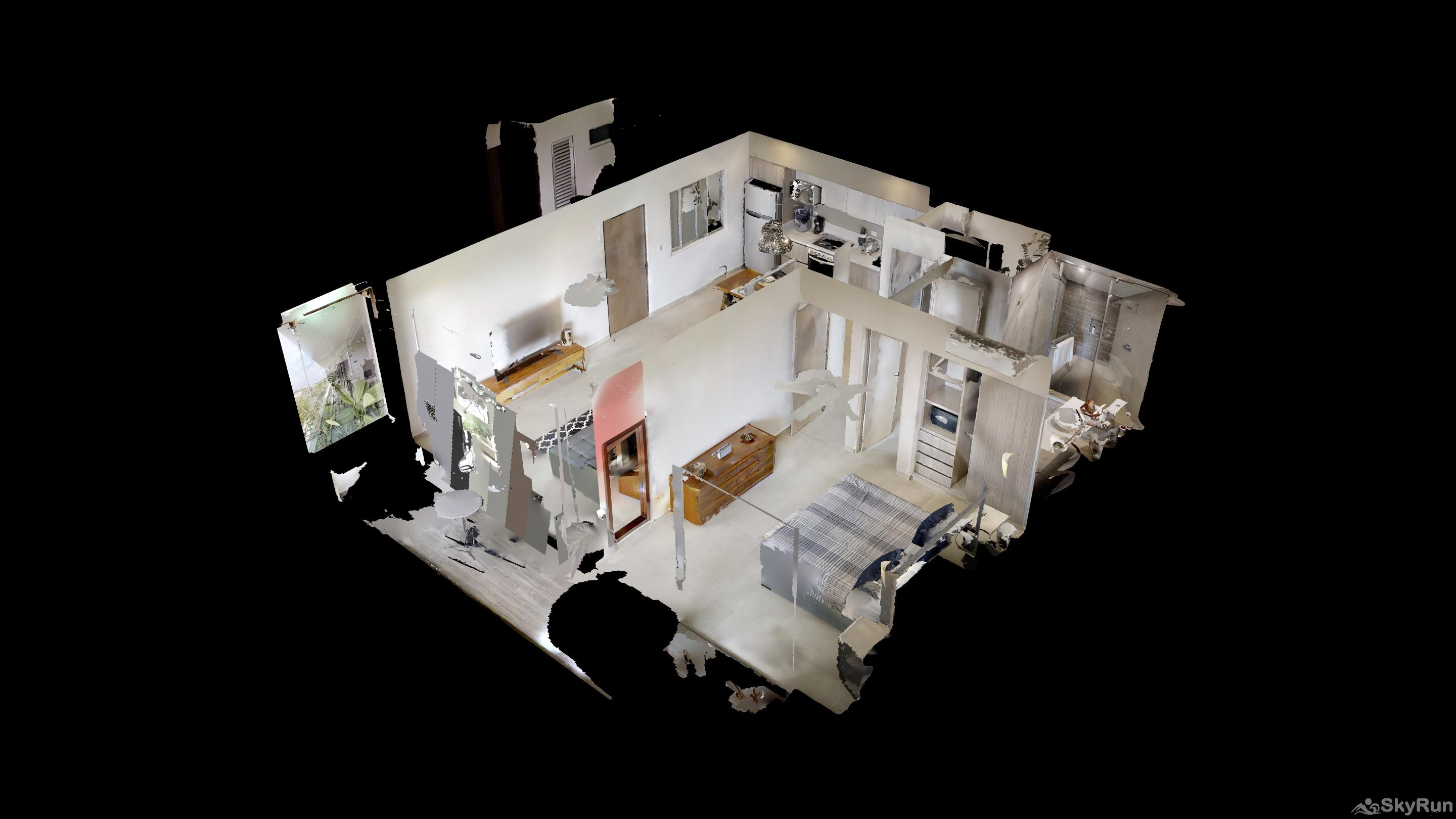 LUXURY RESIDENCE w Panoramic view 1BR 5star hotel amenities 3D Virtual Floor Plan
